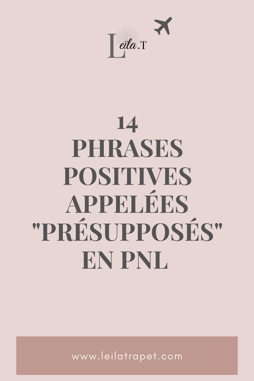 Leïla.T #MYFBL - 14 phrases positives